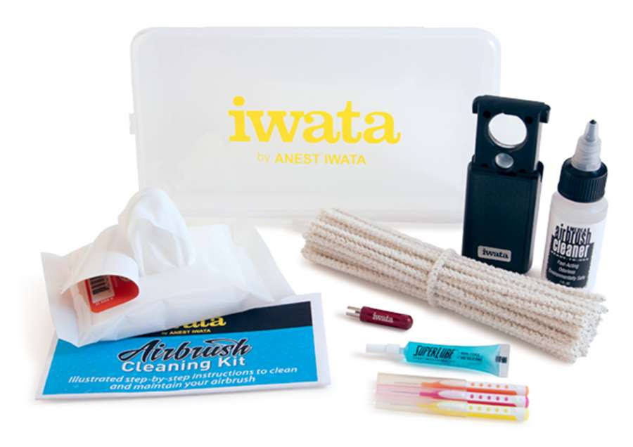 Iwata-Medea Airbrush Cleaning Kit