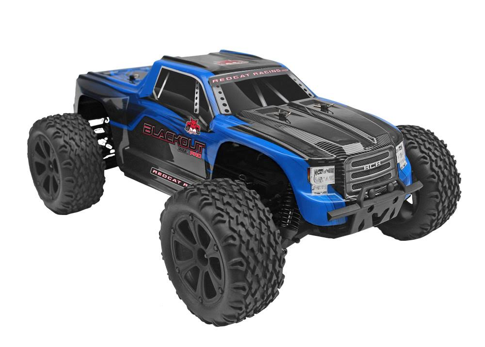 Redcat Racing Blackout XTE PRO Brushless Electric Monster Remote Control Truck - Blue