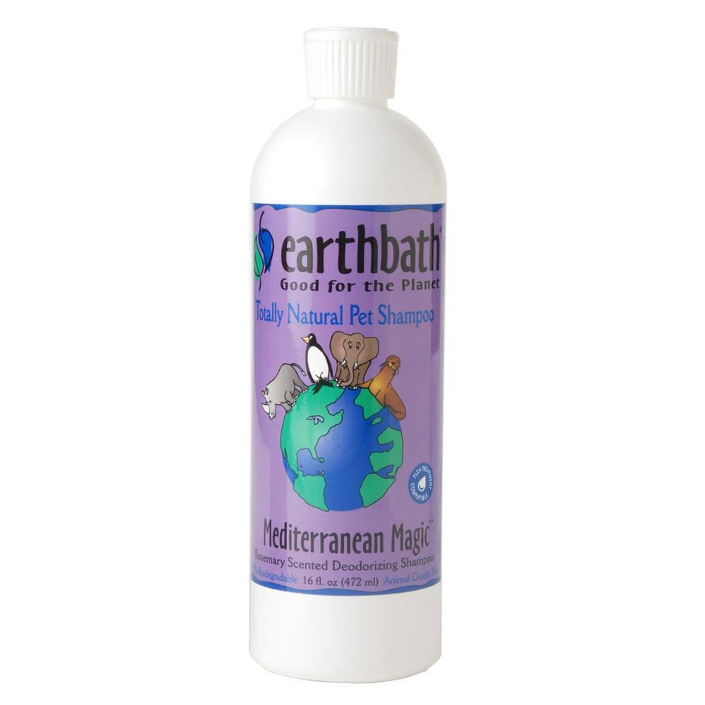 Earthbath All Natural Mediterranean Magic Pet Shampoo - Rosemary Scented