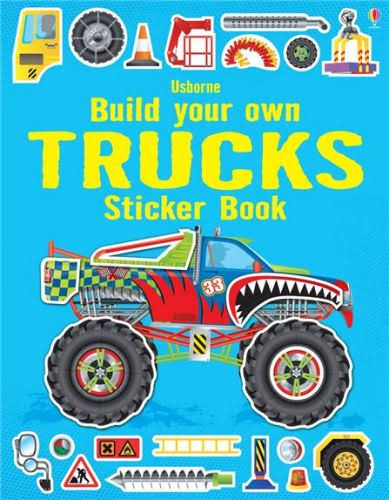 Build Your Own Trucks Sticker Book - Simon Tudhope