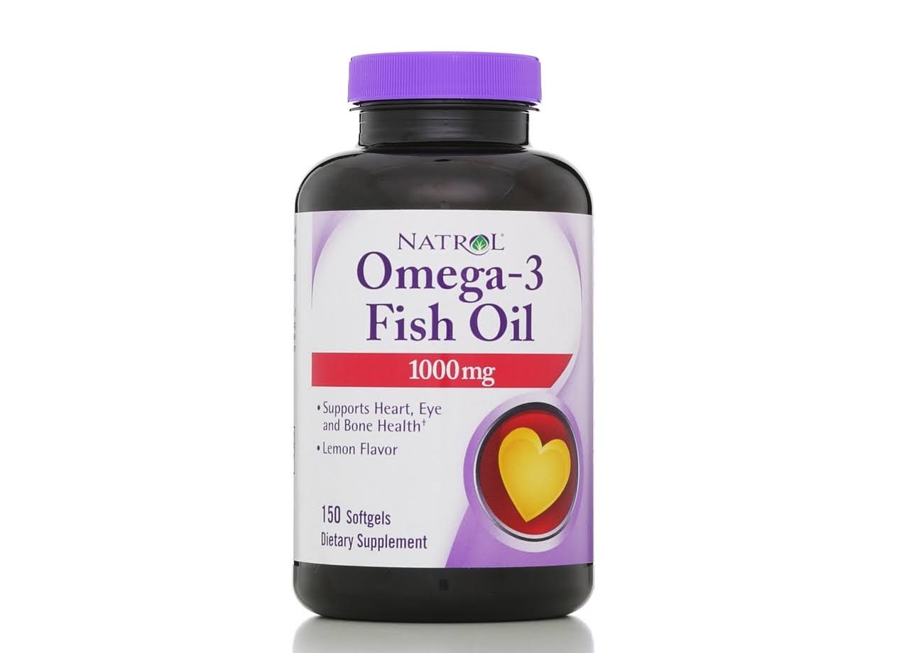 Natrol Omega 3 Fish Oil Dietary Supplement - 150ct