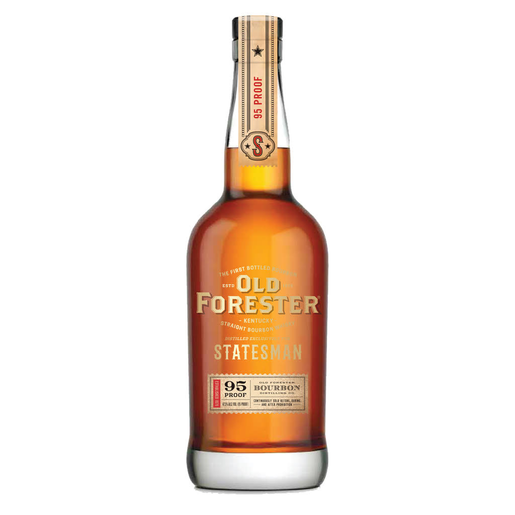 Old Forester Statesman Bourbon, Kentucky Straight Bourbon Whiskey - 750 ml