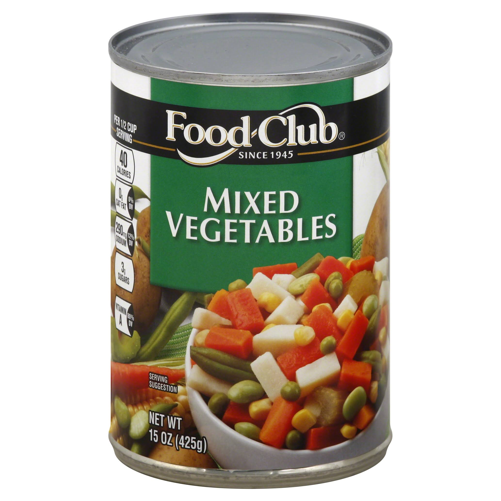 Food Club Mixed Vegetables - 15oz