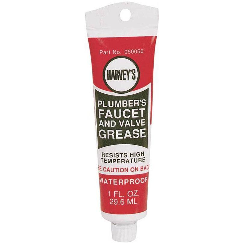 William H. Harvey Plumber's Faucet and Valve Grease - 1oz