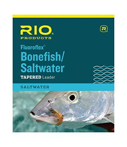 Rio Fluoroflex Saltwater Fly Fishing Tapered Leaders - 9'