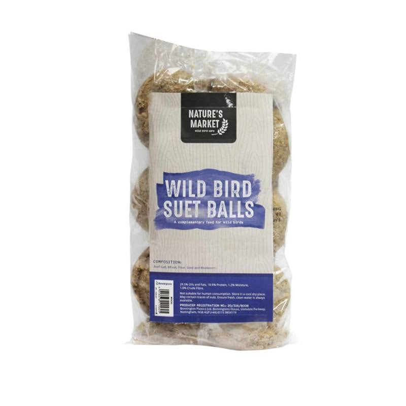 Kingfisher Wild Bird Suet Balls - 6 Pack