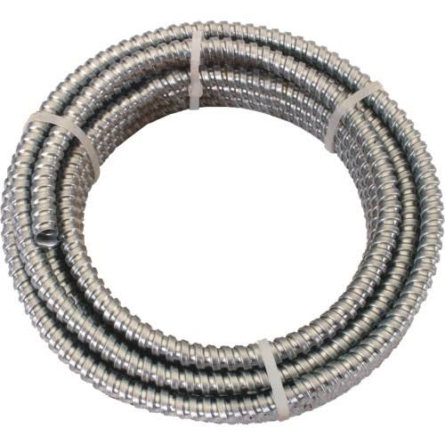 "Southwire Metallic Aluminum Flexible Conduit - Interlocked Design, 1/2"" x 50'"