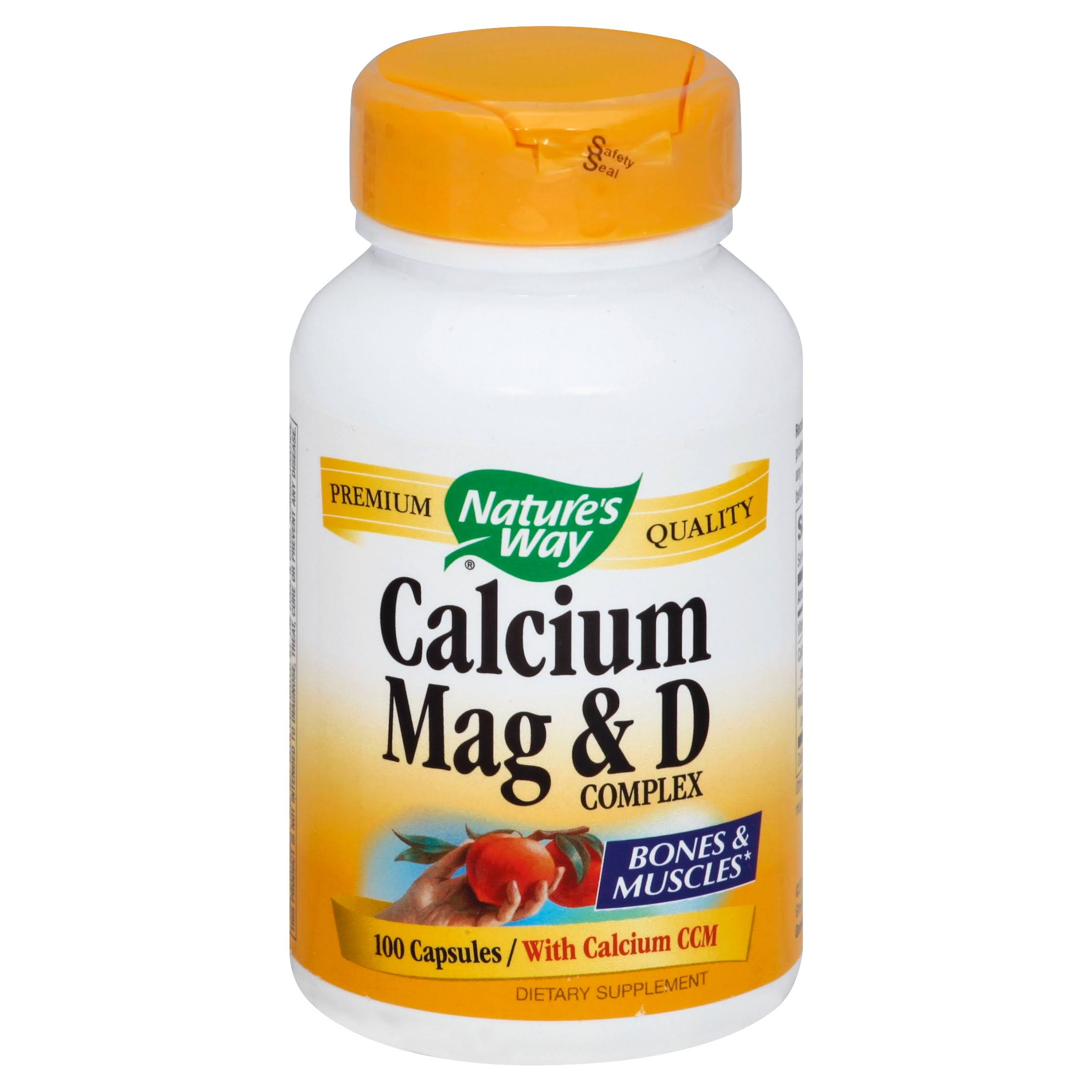 Nature's Way Calcium, Magnesium and Vitamin D Capsules