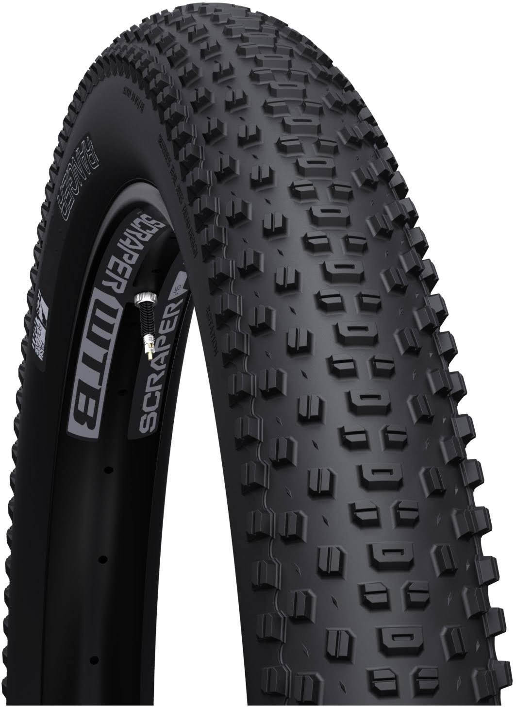 "WTB Ranger TCS Light Fast Rolling Mountain Bike Tire - 27.5"" X 2.8"""