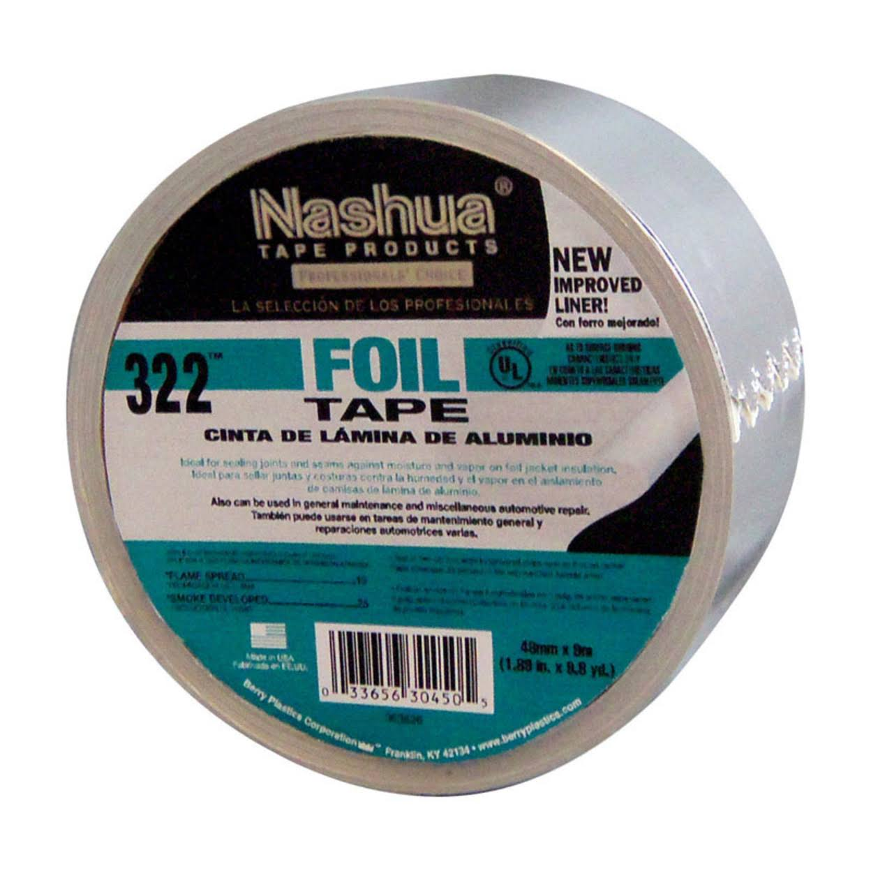 "Covalence Adhesives 3220020400A Foil Tape - 2"" x 10yds"
