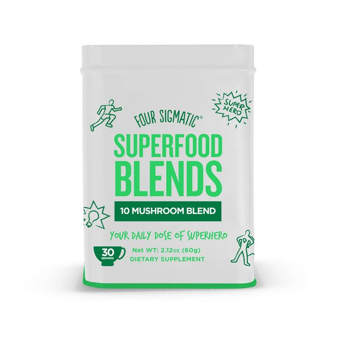 Four Sigmatic Super Food Blends 10 Mushroom Blend Dietary Supplement - 2.12oz