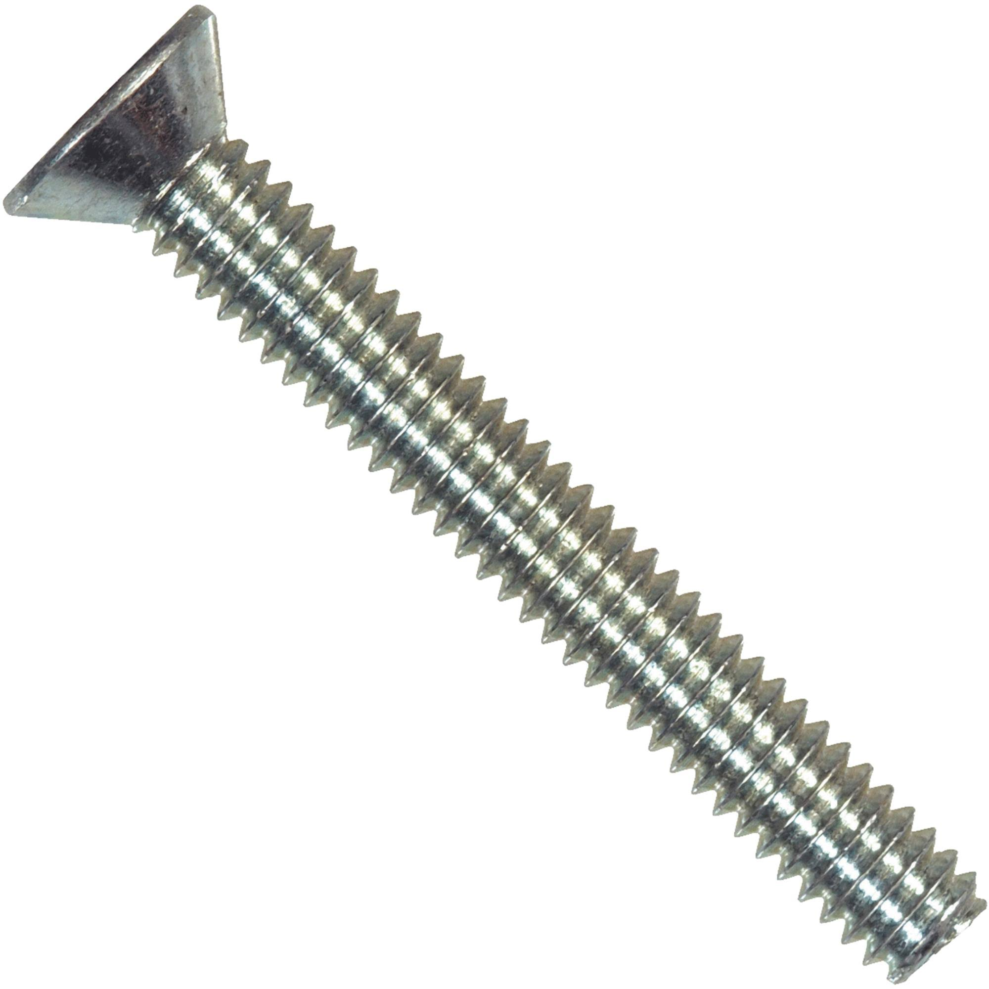 "Hillman Fasteners 101137 Flat Head Machine Screw - 1/4"" x 3/4"", 100pcs"