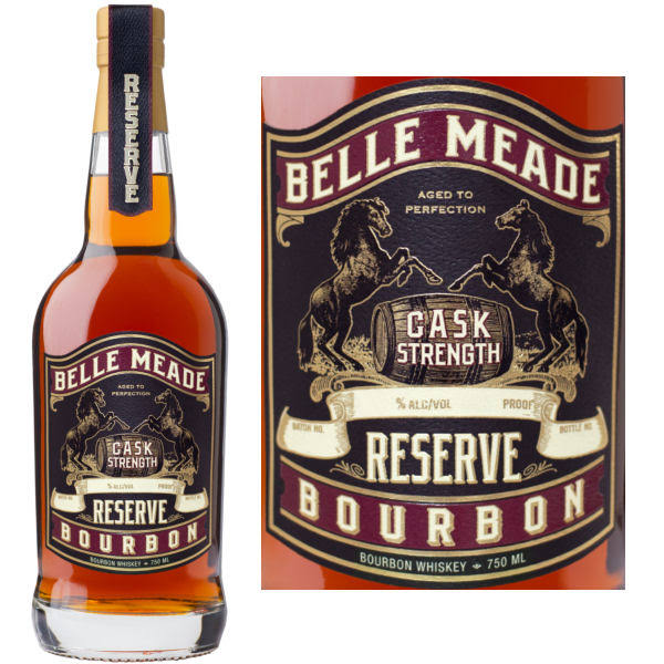 Belle Meade Cask Strength Reserve Bourbon 750 ml