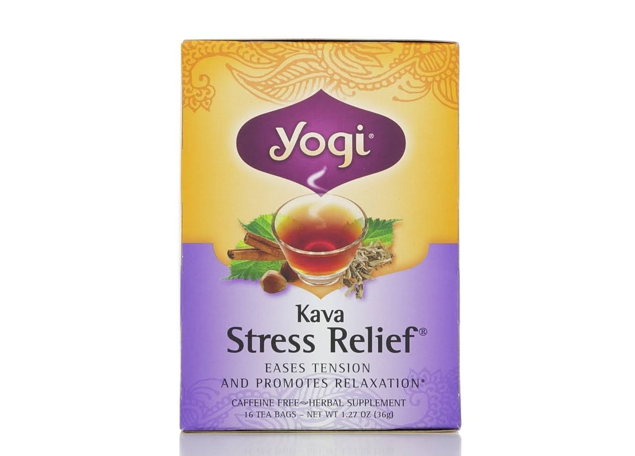 Yogi Tea Co. - Kava Stress Relief, 16 Tea Bags