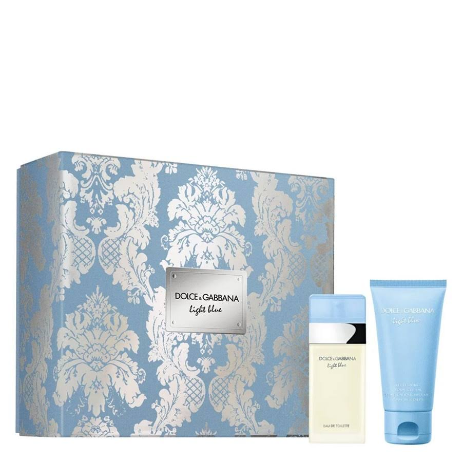 Dolce and Gabbana Light Blue Duo Set
