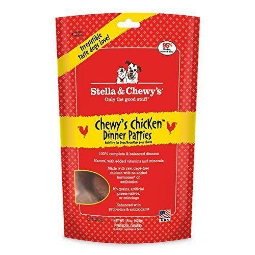 Stella & Chewy's Freeze Dried Chicken Dinner Dog Food - 15oz