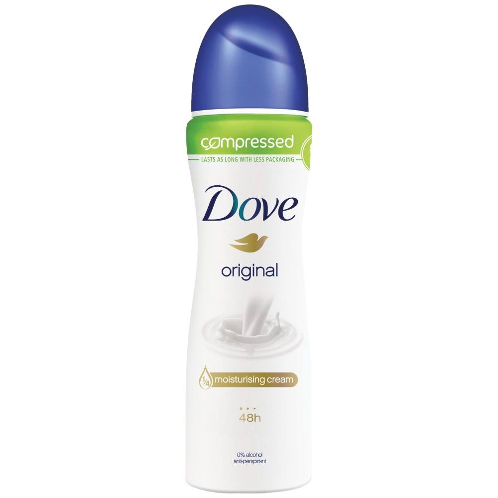 Dove Original Compressed Anti-perspirant Deodorant - 75ml