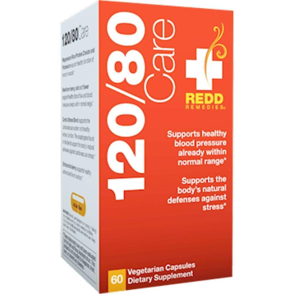 Redd Remedies 120-80 Care - 60 Vcaps