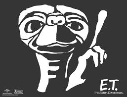 Evil Clown Pumpkin Stencils by Use This Stencil To Create Your Own E T Jack O Lantern This Fall
