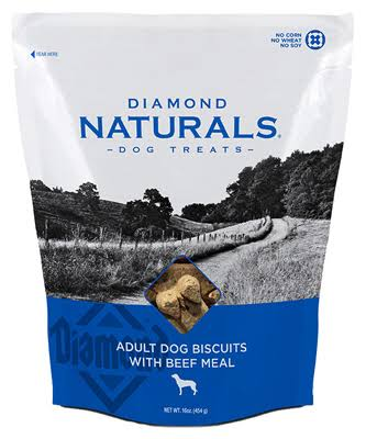 Diamond Naturals Biscuits 16 oz. Beef