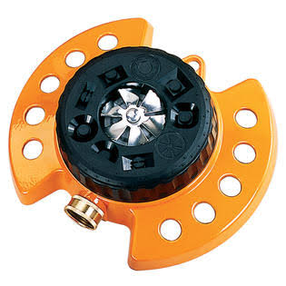 Dramm Orange ColorStorm Turret Sprinkler