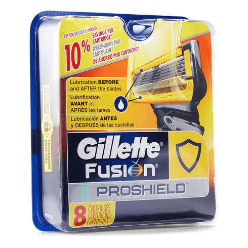 Gillette Fusion ProShield Razor Refill Cartridges - 8ct