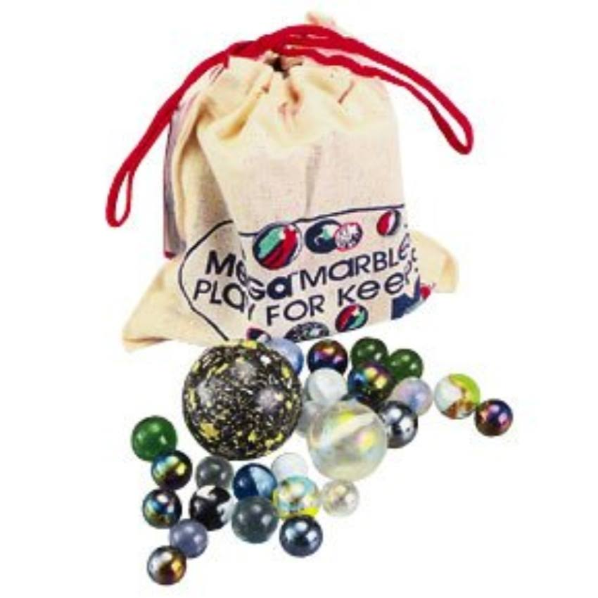 Mega Marbles 93808 Marbles - With Pouch