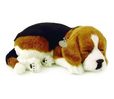 Perfect Petzzz Sleeping Beagle Soft Toy