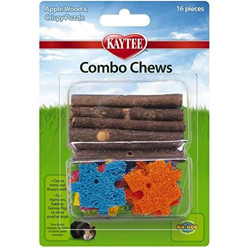 Super Pet Combo Chews - Apple Wood