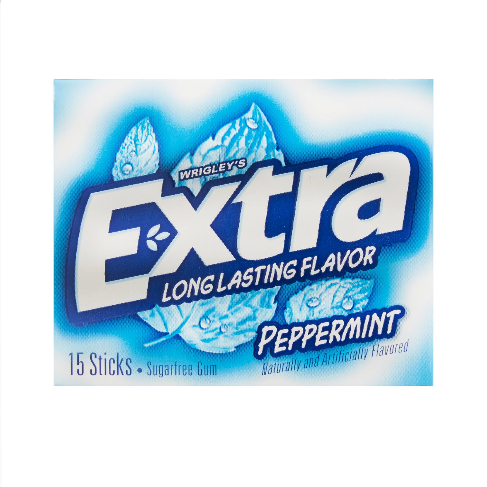 Wrigley's Extra Peppermint Sugarfree Gum