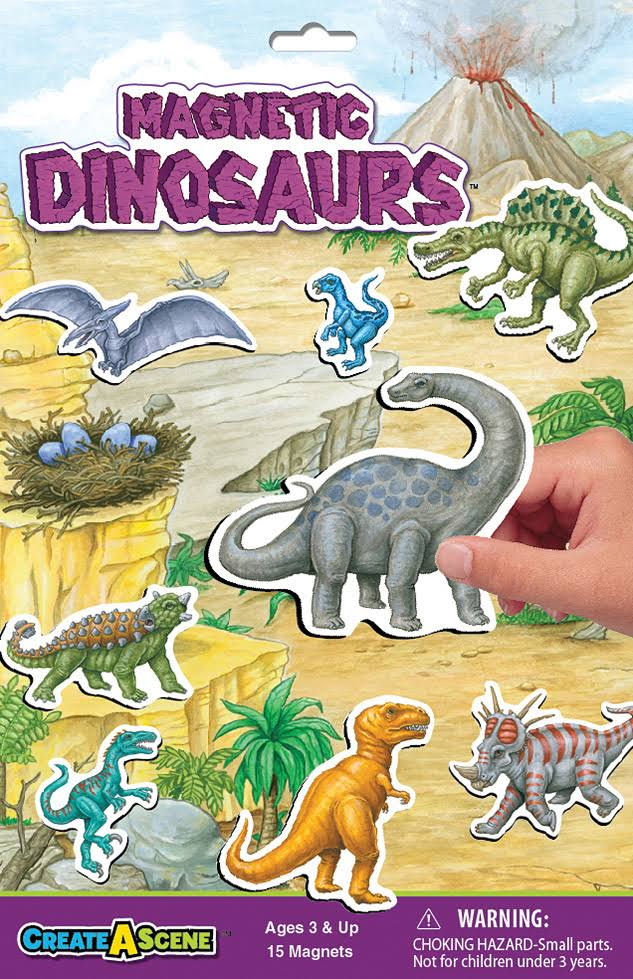 Create-A-Scene Magnetic Playset - Dinosaurs 2