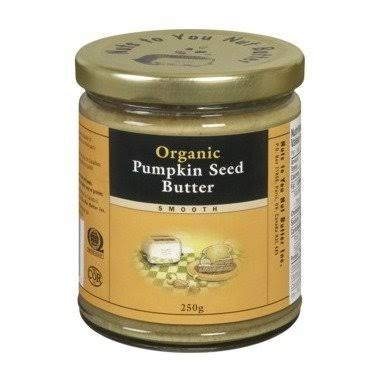 Nuts to You Nut Butter Organic Smooth Pumpkin Seed Butter 3 x 250g Ca
