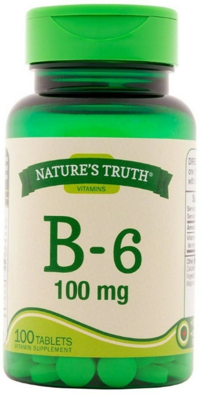 Nature's Truth B-6 100 mg - 100 Tablets