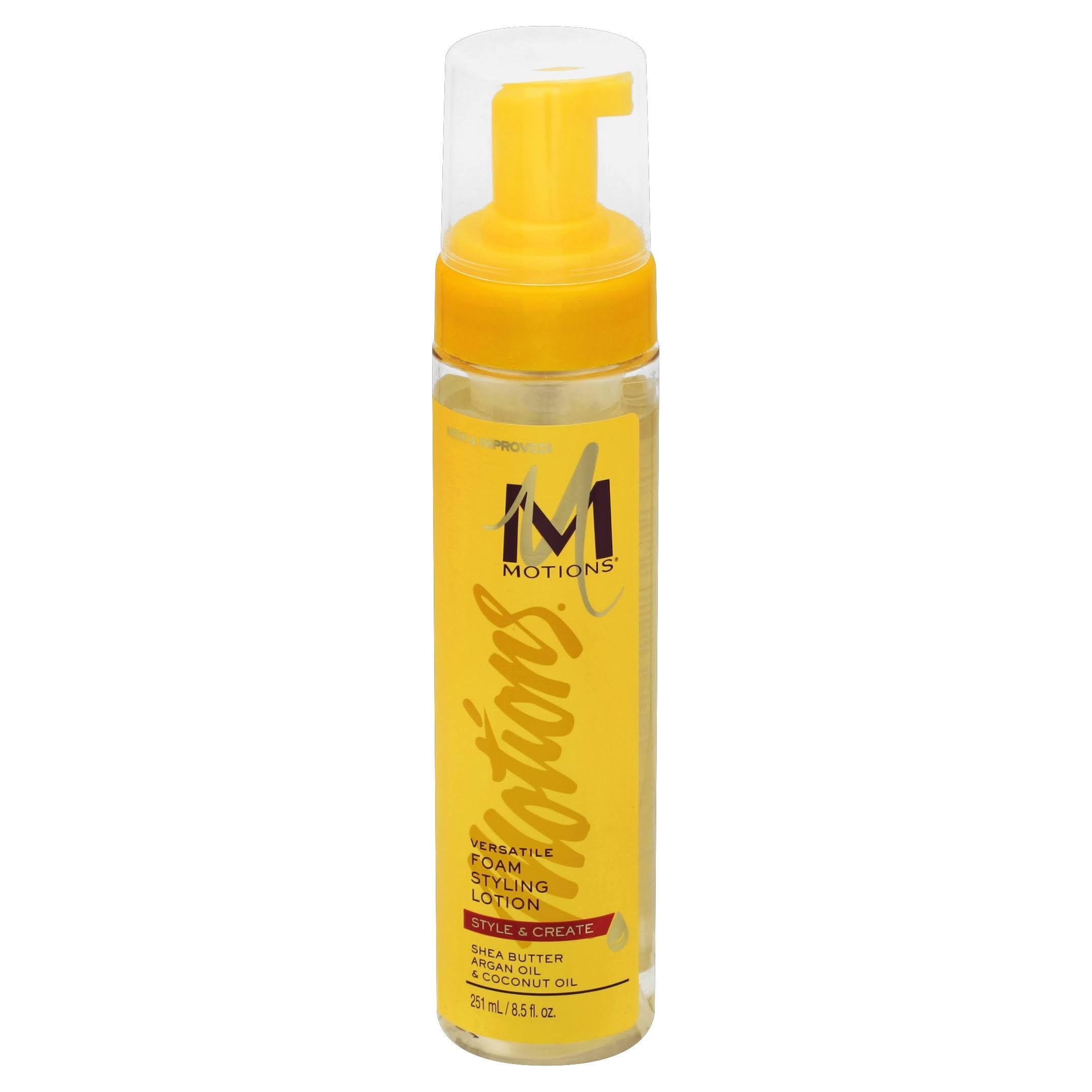 Motions Professional Hair Products Versatile Foam Styling Lotion - 8.5oz