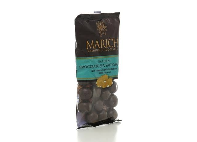 Marich Premium Dark Chocolate - Sea Salt Caramel, 2.1oz