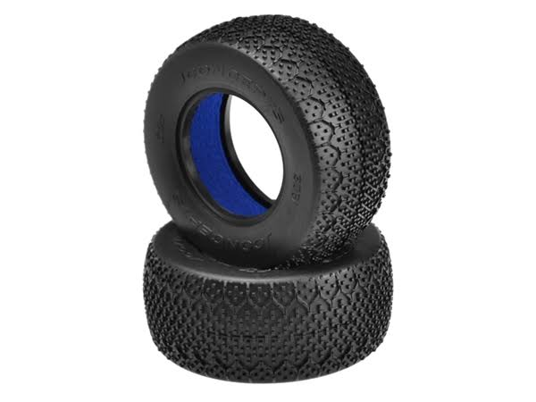 JConcepts Jco306102 3d Short Course Truck Tire - Green