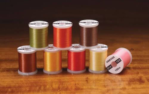 8/0 Veevus Thread - Assorted Colors - Fly Tying, Orange