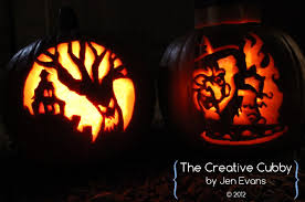 Wolf Pumpkin Stencils Free Printable by The Creative Cubby Evans Pumpkin Carving 2012