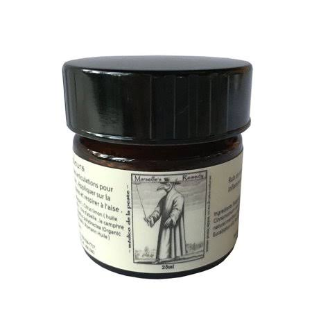 Marseille's Remedy Traditional Thieves' Balm by Salt Spring Naturals (0.85oz Balm)