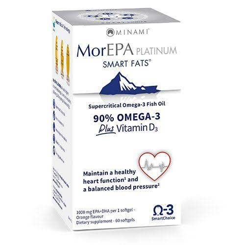 Minami Nutrition MorEPA Platinum - High Omega-3 Supplements, 1100mg