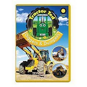 Tractor Ted Diggers & Dumpers - DVD