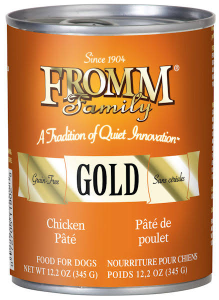 Fromm Chicken Pate Dog Food - 12.2 oz Can