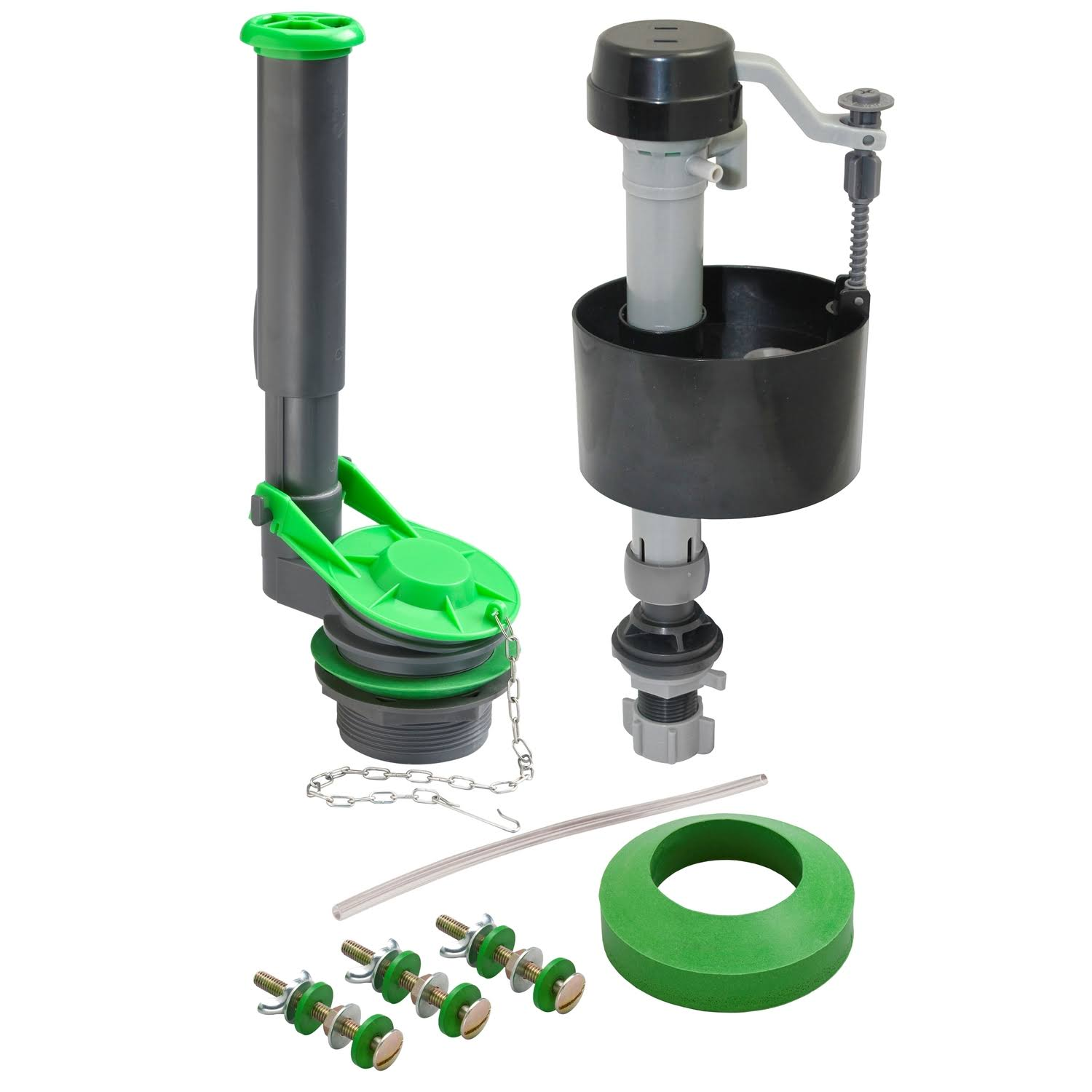 Plumb Pak K83016BX Toilet Tank Repair Kit - Grey and Green