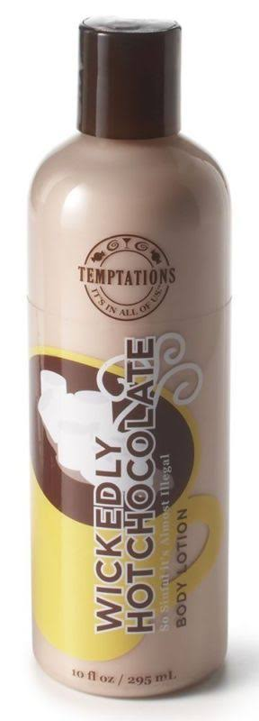 Bath & Body Works Wickedly Hot Chocolate Body Lotion Hot Chocolate Temptations