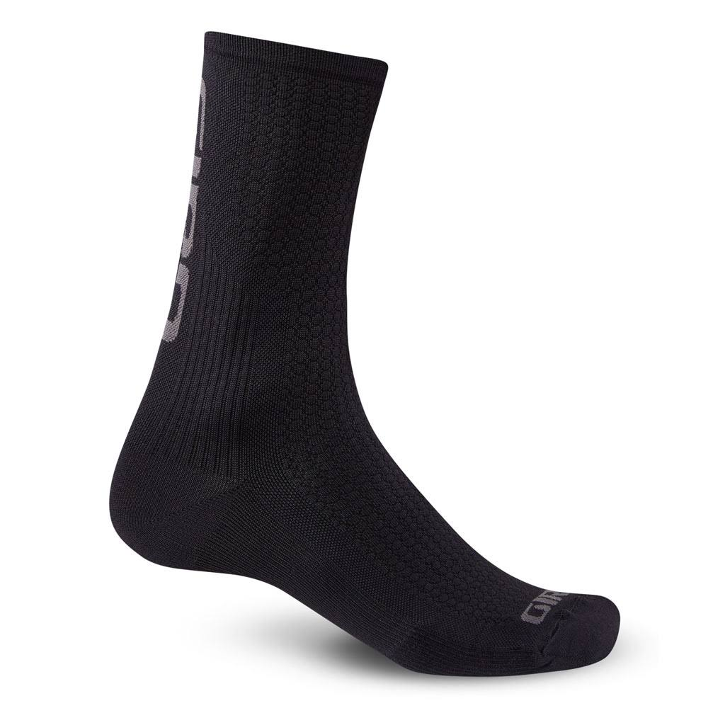 Giro HRC Team Cycling Sock - Black/Grey