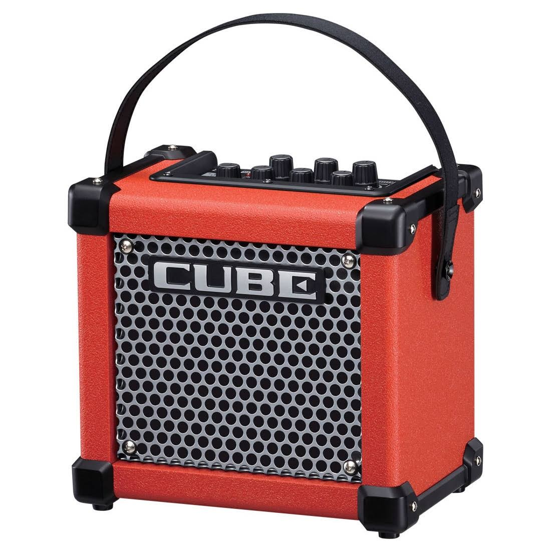 Roland MicroCube GX Guitar Amplifier, Red