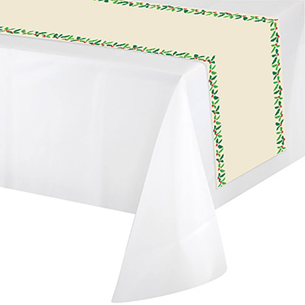 Creative Converting Holly Table Runner 1ct