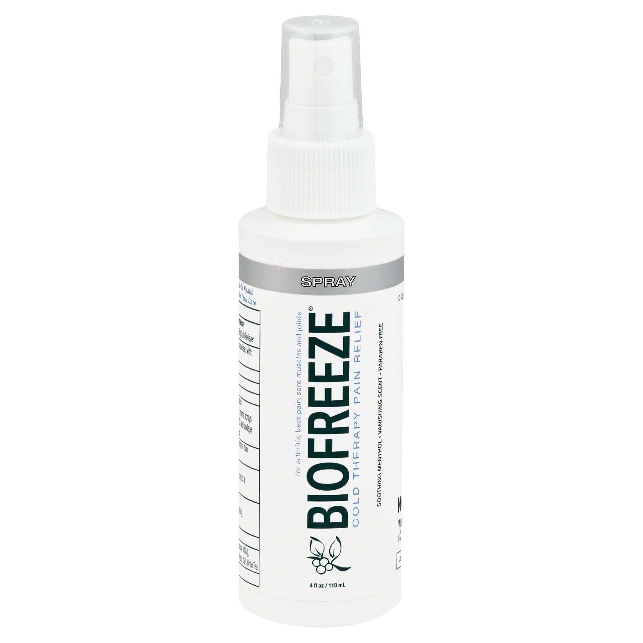 BioFreeze Cold Therapy Pain Relief Spray - Soothing Menthol