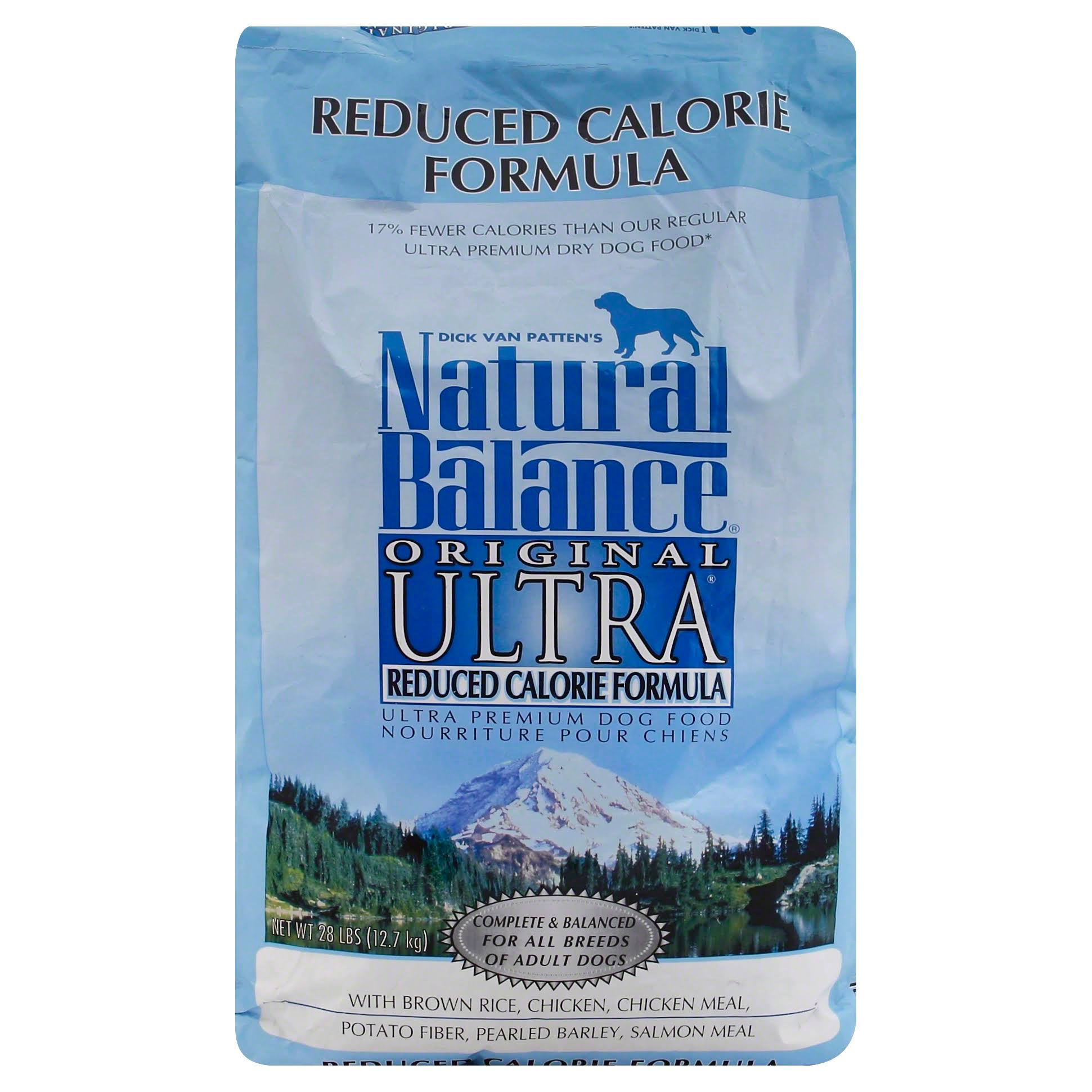 Natural Balance Original Ultra Reduced Calorie Dry Dog Formula - 28lbs
