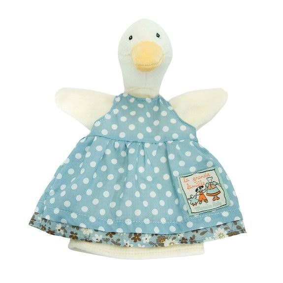 Moulin Roty Jeanne The Duck Hand Puppet